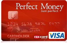 perfect money visa debit card for international use - International Visa Card
